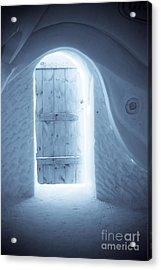 Welcome To The Ice Hotel Acrylic Print