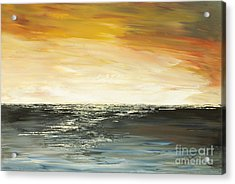 Acrylic Print featuring the painting Welcome To The Maldives by Tatiana Iliina