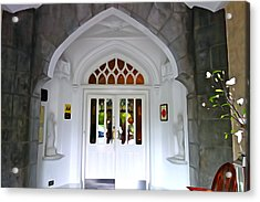 Acrylic Print featuring the photograph Welcome To The Manor by Charlie and Norma Brock