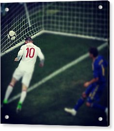 Well Done To England! #euro #2012 Acrylic Print