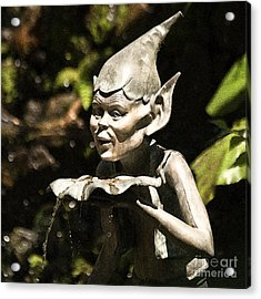 Well Gremlin Acrylic Print by Heiko Koehrer-Wagner