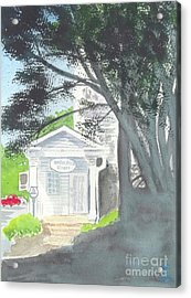 Acrylic Print featuring the painting Wellers Carriage House 1 by Yoshiko Mishina