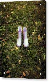Wellingtons Acrylic Print by Joana Kruse