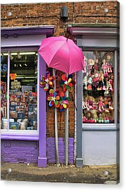 Wells-next-the-sea Gift Shops Acrylic Print