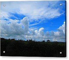 Welsh Sky Acrylic Print