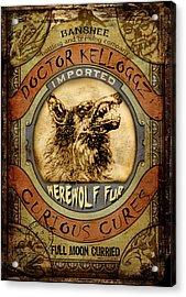 Werewolf Fur  Acrylic Print