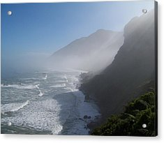 Acrylic Print featuring the photograph West Coast- South Island by Peter Mooyman