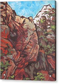 West Fork Acrylic Print by Sandy Tracey