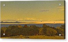 Albuquerque, New Mexico - West Mesa Landscape Acrylic Print