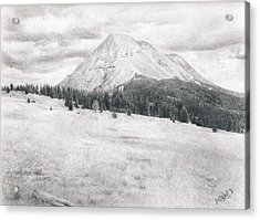 West Spanish Peak Acrylic Print