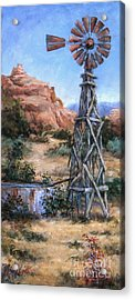 West Texas And Beyond Acrylic Print