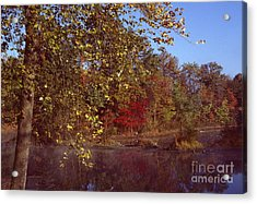 Acrylic Print featuring the photograph West Twin Pit by Jack R Brock