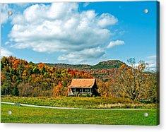 West Virginia Homestead Acrylic Print by Steve Harrington