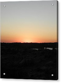 Westerly Ri Sunset Acrylic Print by Kim Galluzzo Wozniak