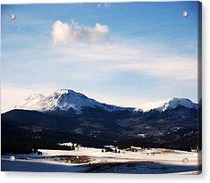 Acrylic Print featuring the photograph Western Beauty by Clarice  Lakota
