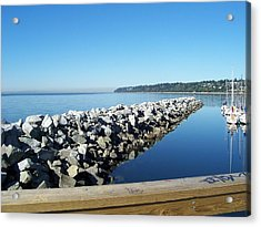 Acrylic Print featuring the photograph Western Canada by Sheila Silverstein