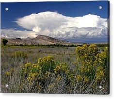 Western Colorado Cloudscape Acrylic Print