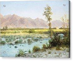 Western Landscape Acrylic Print