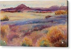 Western Landscape Acrylic Print by Rita Bentley