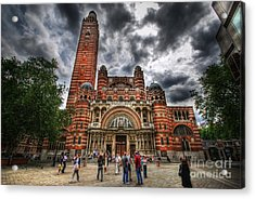 Westminster Cathedral Acrylic Print by Yhun Suarez