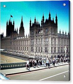 Westminster, London 2012 | #london Acrylic Print by Abdelrahman Alawwad