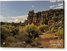 Westward Across The Mesa Acrylic Print