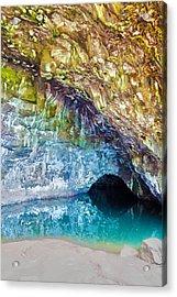 Wet Cave Acrylic Print by Artistic Photos