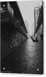 Acrylic Print featuring the photograph Wet Cobbles by Mitch Shindelbower