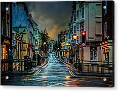 Wet Morning In Kemp Town Acrylic Print by Chris Lord