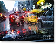 Wet Ride Home Acrylic Print