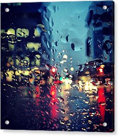 Wet Weather Time In #adelaide Which I Acrylic Print