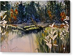 Wetlands Acrylic Print by Carolyn Rosenberger