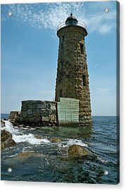 Acrylic Print featuring the photograph Whaleback Light by Rick Frost