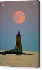 Whaleback Lighthouse Acrylic Print