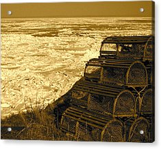 Wharf Traps Acrylic Print