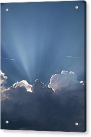 What A Light Show Acrylic Print