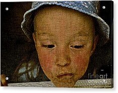 What All Kids Do Acrylic Print by Aimelle