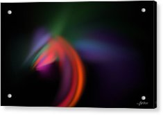 Acrylic Print featuring the digital art What If... by Maciek Froncisz