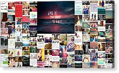 What Is Life To You Acrylic Print by Holley Jacobs