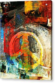 What Peace On Earth Acrylic Print by Fania Simon