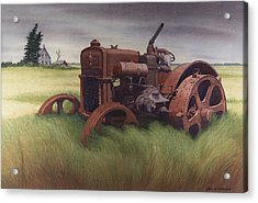 What Rust Hath Wrought  Acrylic Print by Glen Heberling
