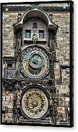 What Time Is It Acrylic Print by Jason Wolters
