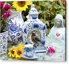 What Time Is Tea After Church Acrylic Print