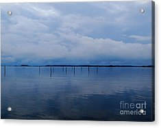 Acrylic Print featuring the photograph What Used To Be by Linda Mesibov