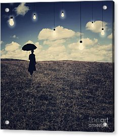 What You Don't Want To See Acrylic Print by Aimelle