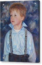 Blue Boy Acrylic Print