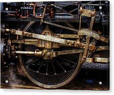 Wheel Acrylic Print by Gert Lavsen