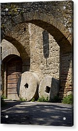 Wheeled Arches Acrylic Print