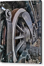 Wheels Of Steel Acrylic Print