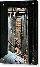 When One Door Closes Acrylic Print by JC Findley